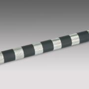 Metal Transportwalzenrollen mit Gummi Beschichtung