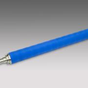 Chromwalze blaue Gummi Außenschicht